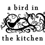 A bird in the kitchen