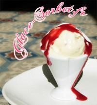 Glace façon cheesecake à la fraise