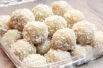 Daifuku mochi glacé à la noix de coco